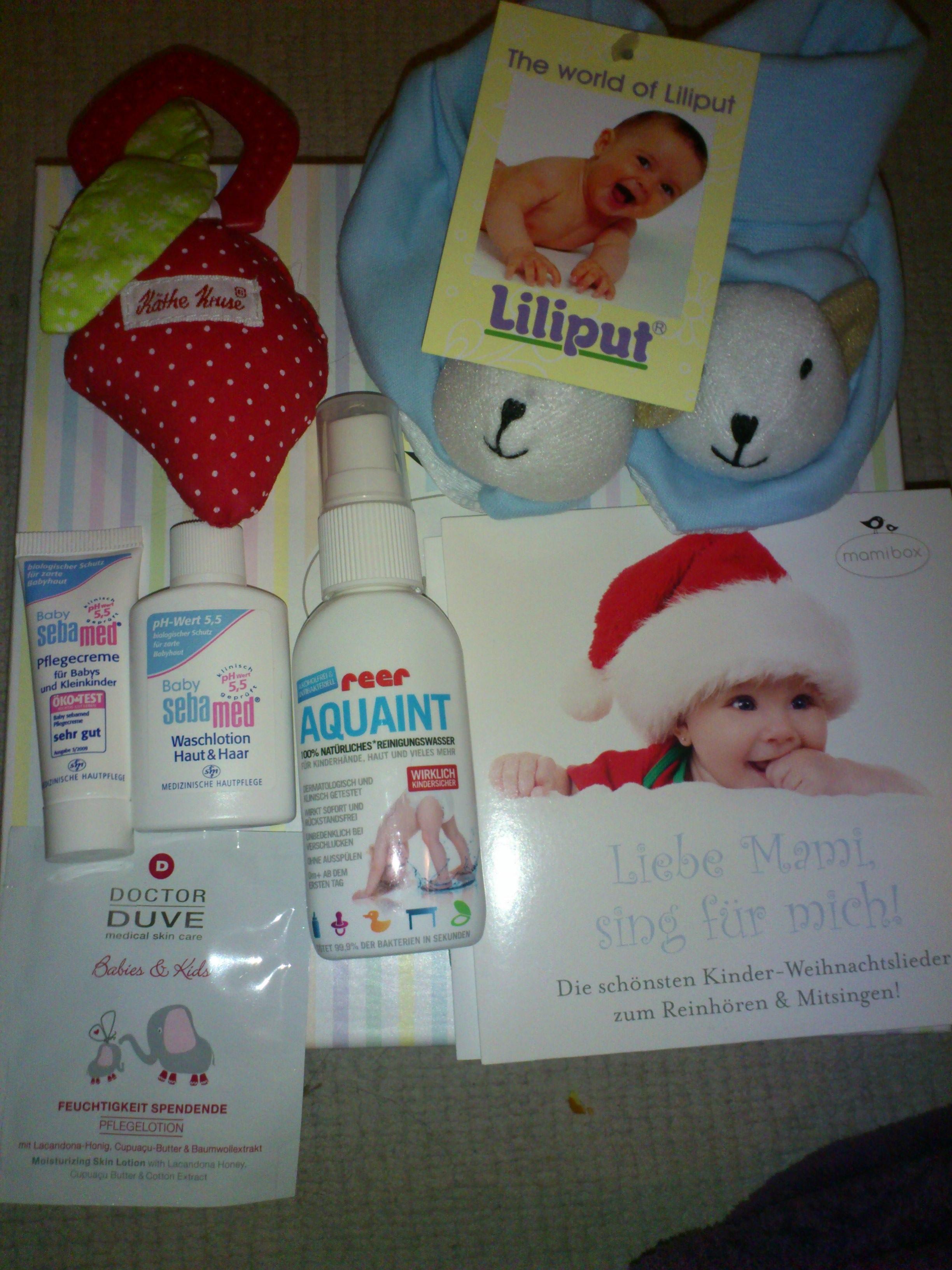 Mamibox Im Test 2 Dezemberbox 2012 Mamamulle S Blog