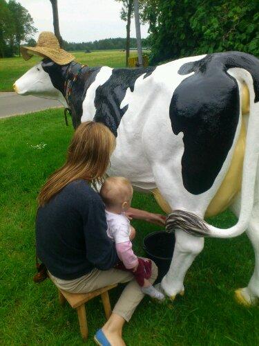 Schatz, wir müssen tanken – die Milch ist alle!