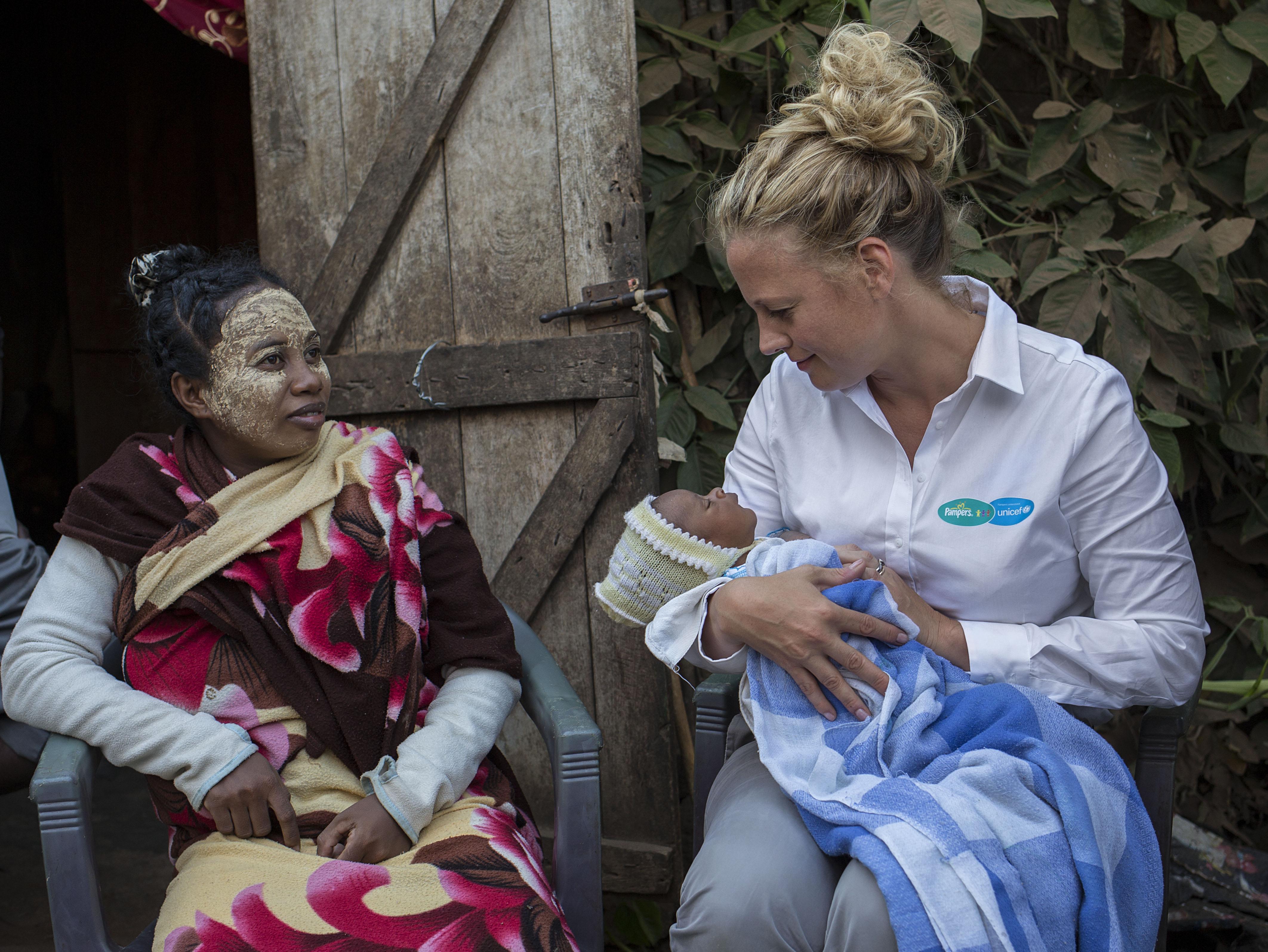 Pampers/UNICEF 2013 Projektreise nach Madagaskar mit Barbara Sch