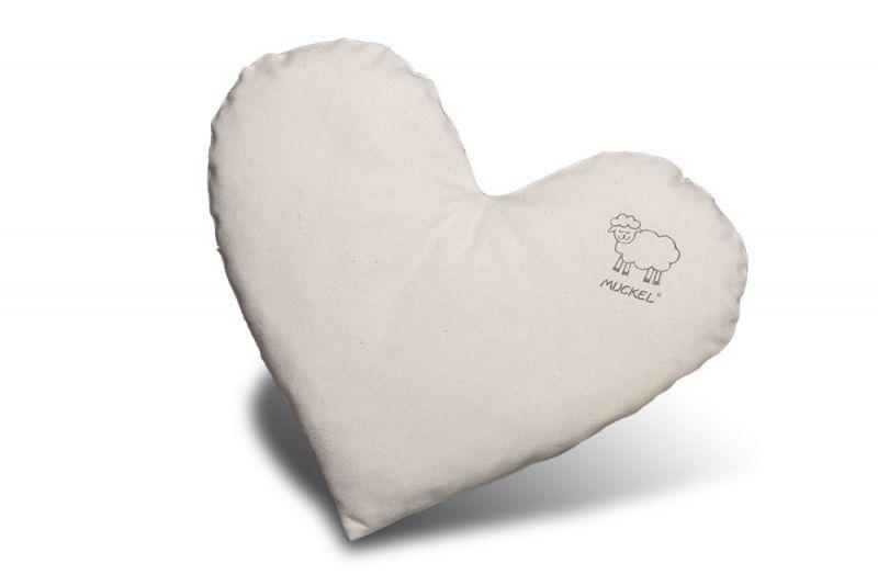 Muckel-Kissen Herz