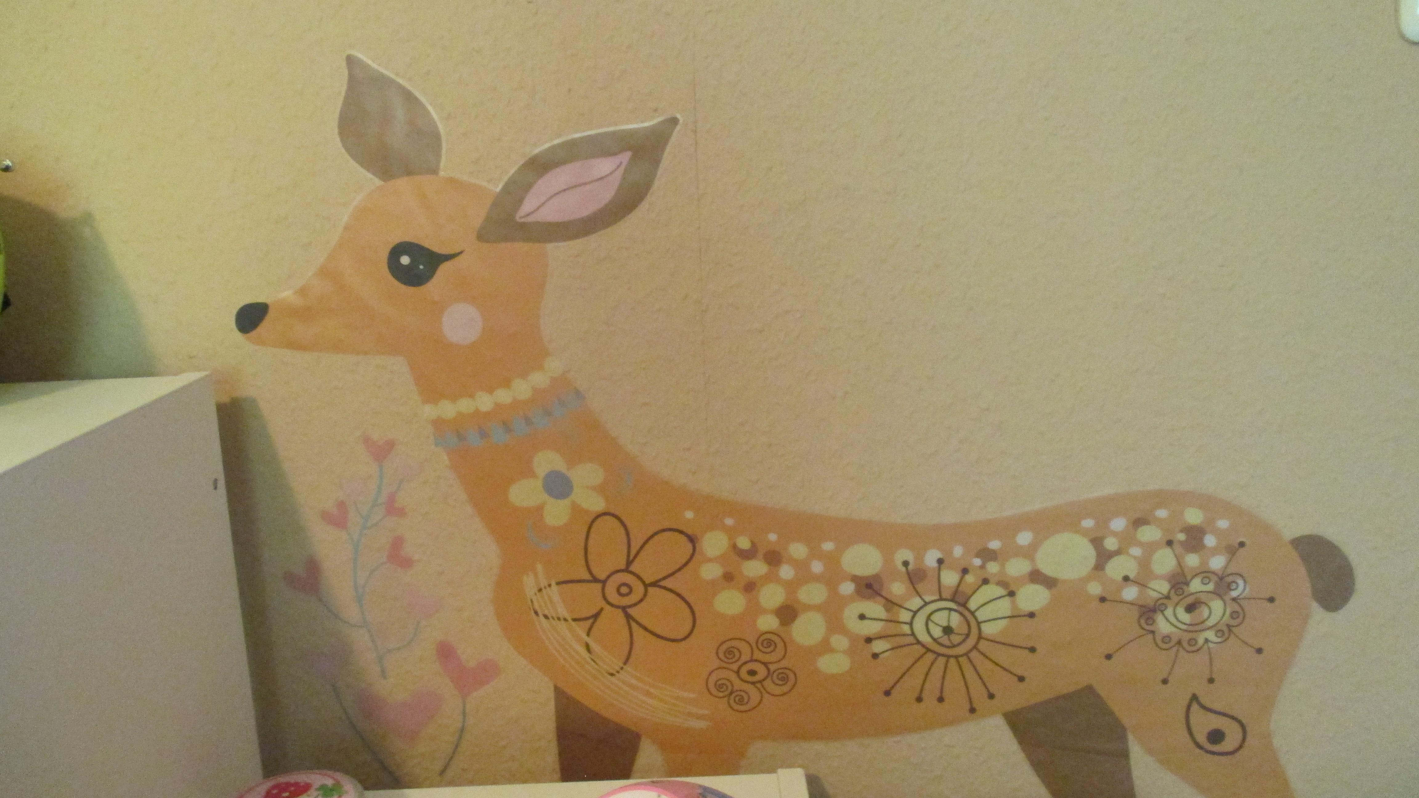 Kinderzimmer wandgestaltung giraffe  Kinderzimmer-Verschönerung | Wandgestaltung | Dekoideen ...