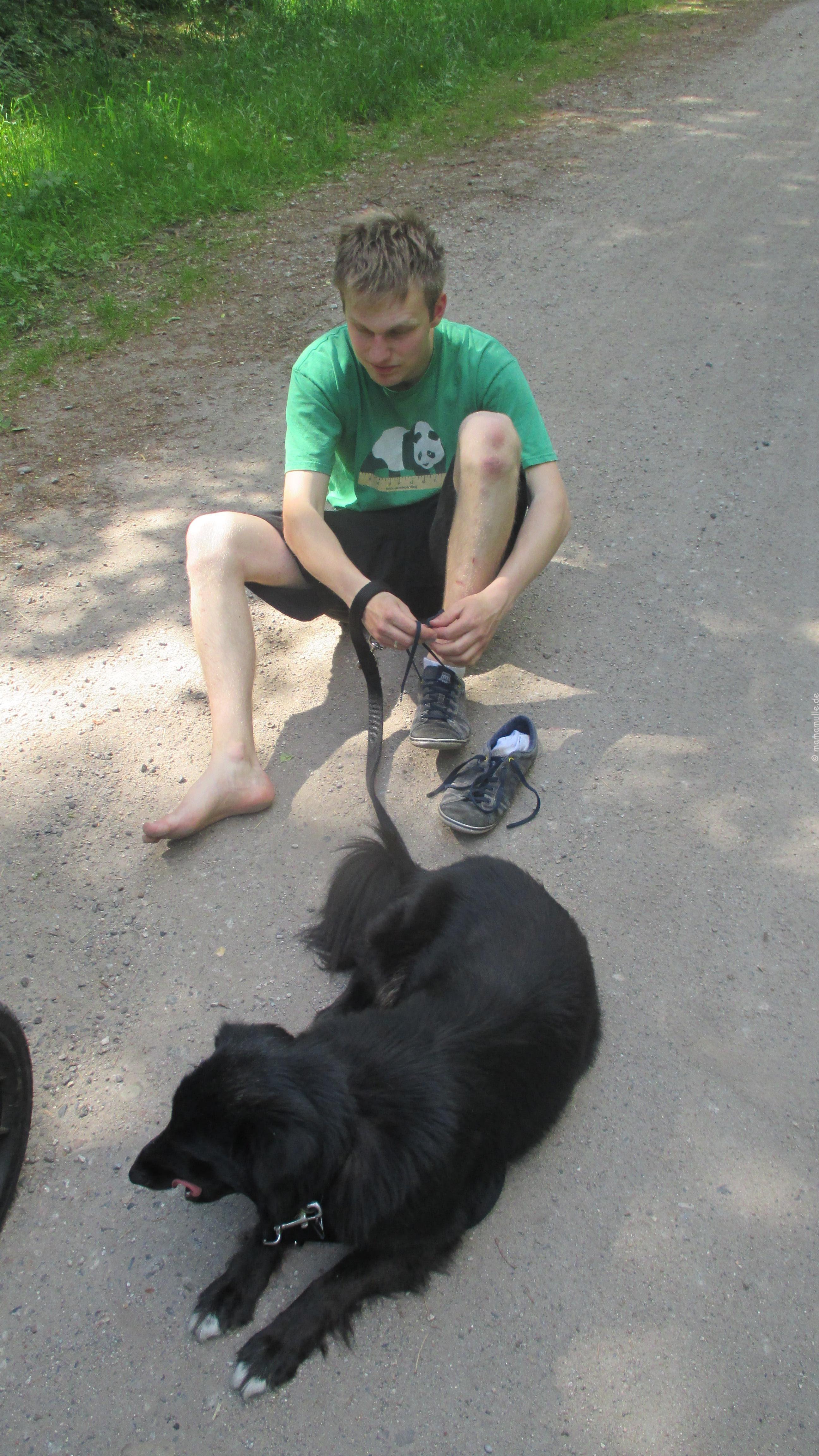 Endlich wieder wandern: Heidschnuckenweg Etappe 7 mit Kind & Kegel