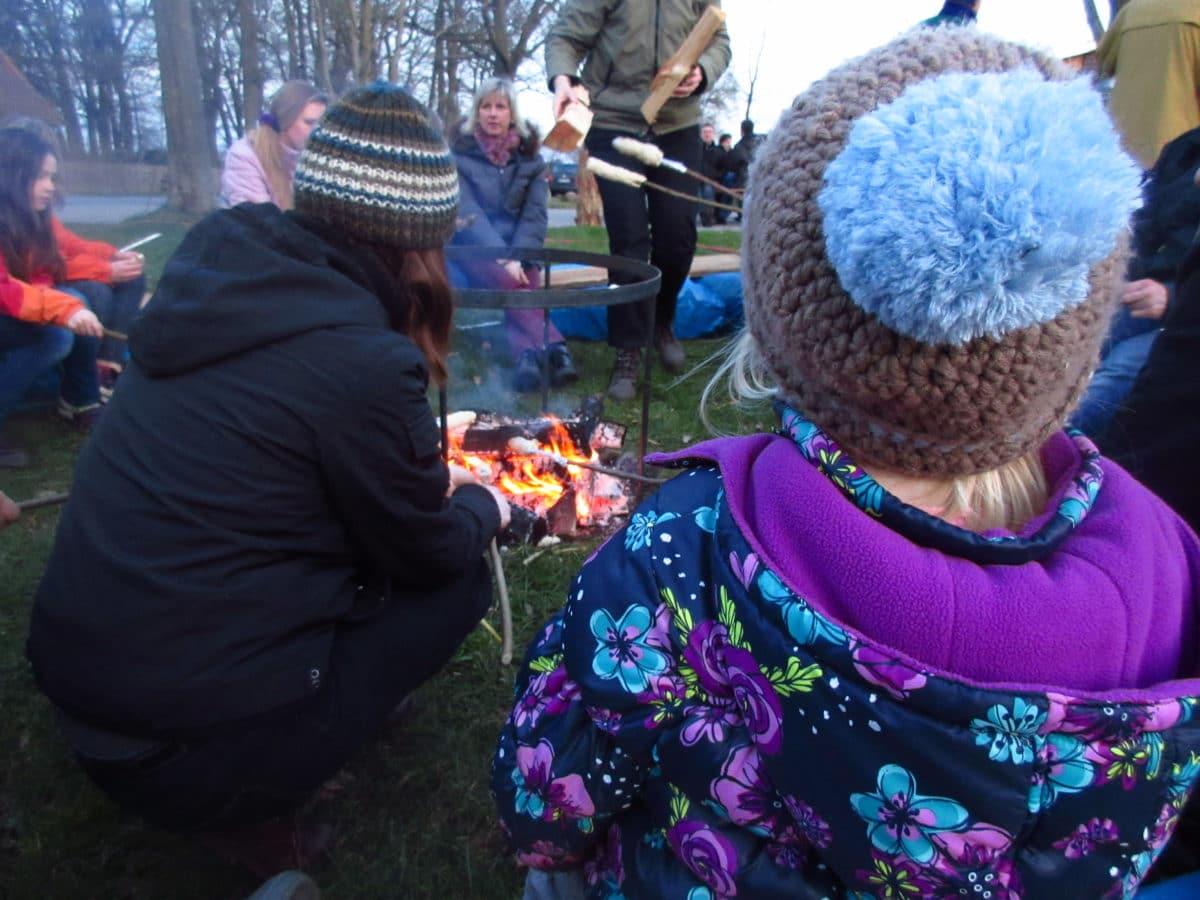 Wochenende bei den Mulles: Besuch vom Osterhasen