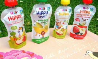Gesunder Kindersnack im Trend // HiPP HiPPiS Quetschies: Jetzt auch für ältere Kinder + Gratis Kinder APP