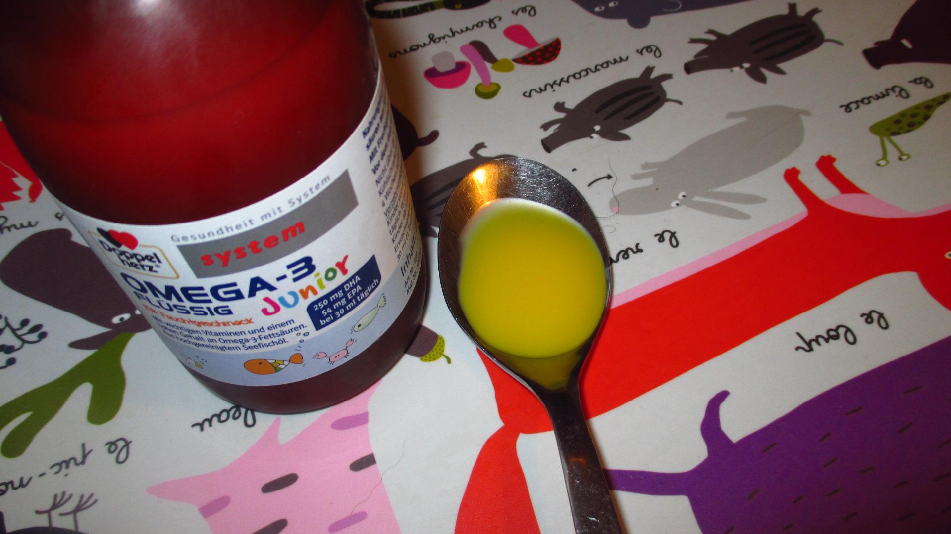 Omega 3 Junior Von Doppelherz Nahrungsergänzung Für Schlechtesser