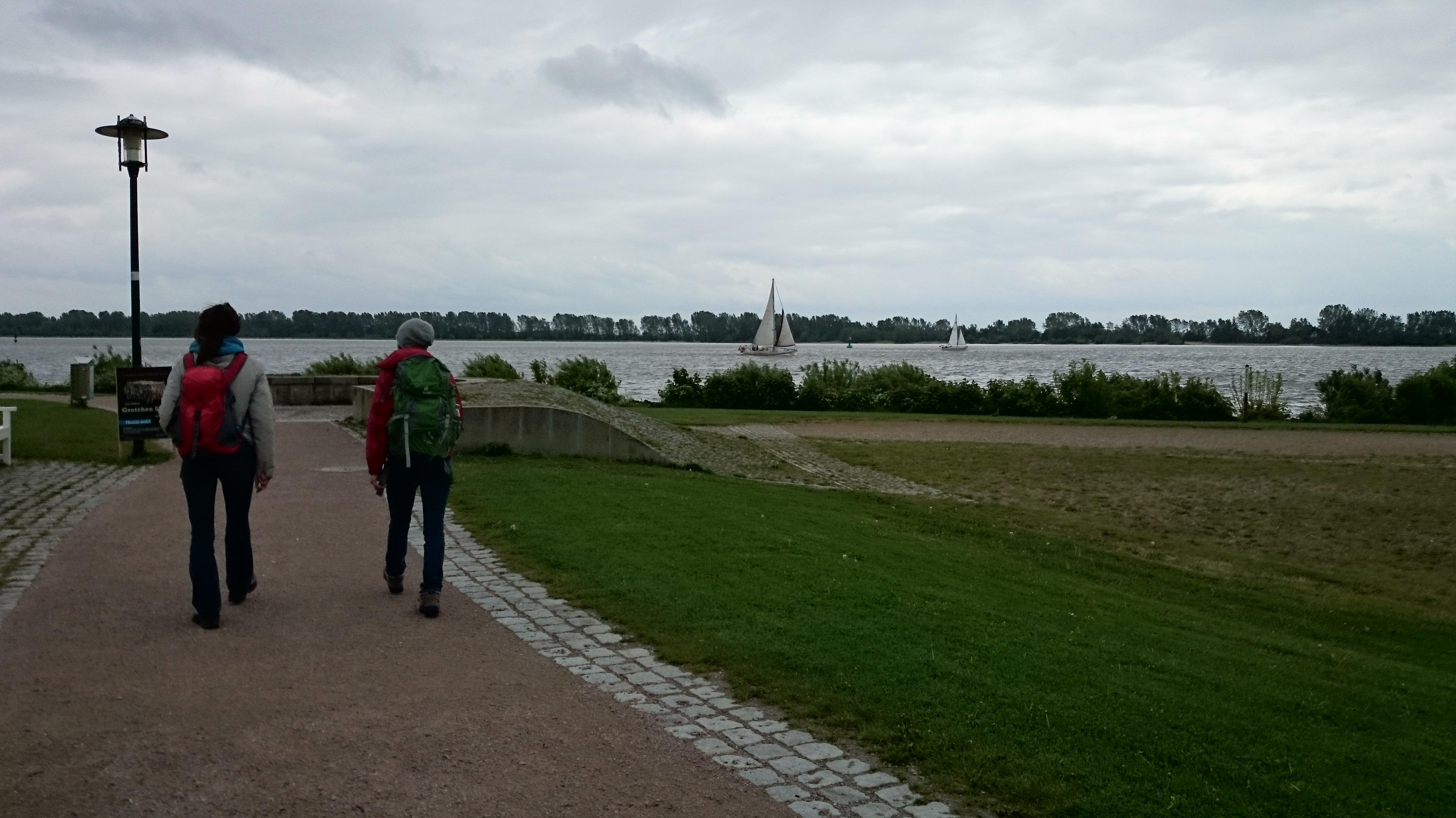 Mein Muttertag an der Elbe ♥